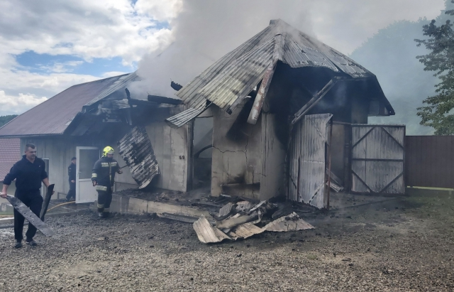 Пожежа на Тячивщині